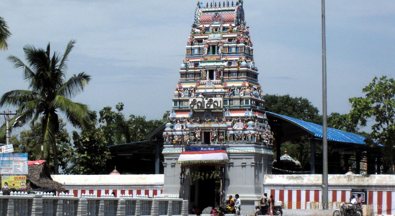 Thiruverkadu-Vedapureeswarar-Temple